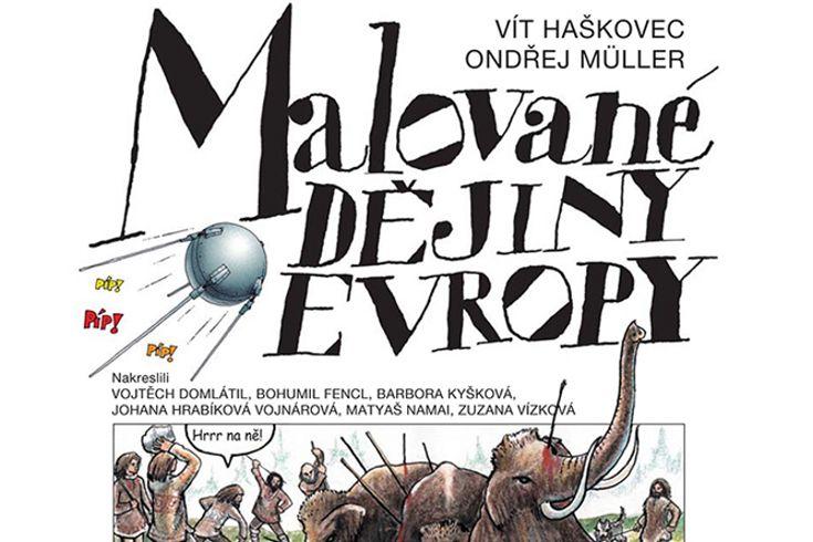 Vyhrajte tři knihy pro děti Malované dějiny Evropy - www.klubknihomolu.cz