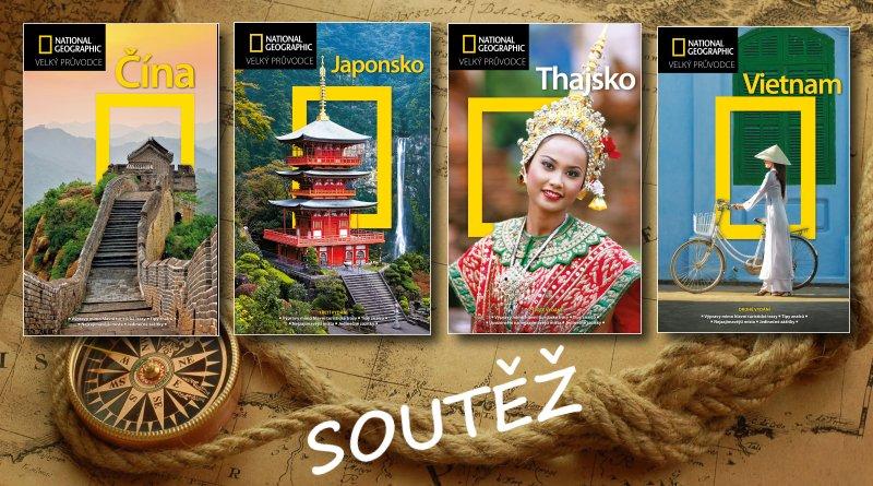 SOUTĚŽ o čtyři asijské průvodce National Geographic - www.chrudimka.cz