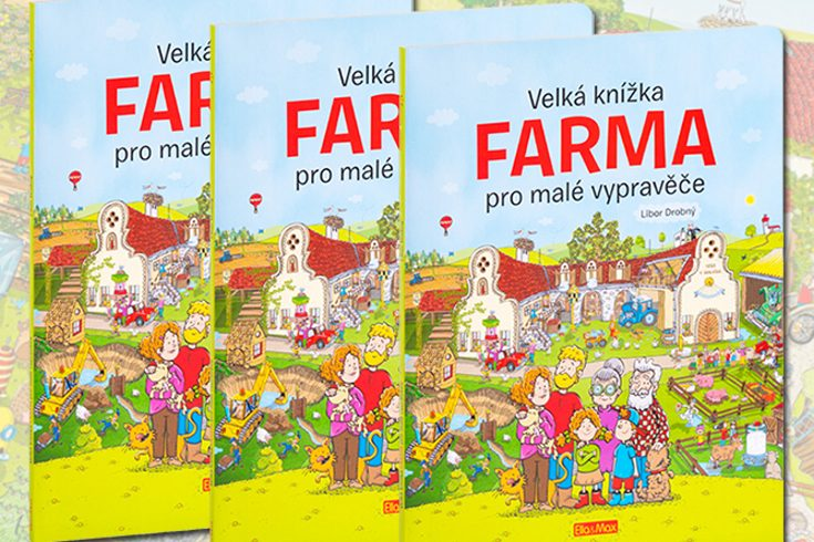Vyhrajte tři leporela Velká knížka FARMA pro malé vypravěče - www.klubknihomolu.cz