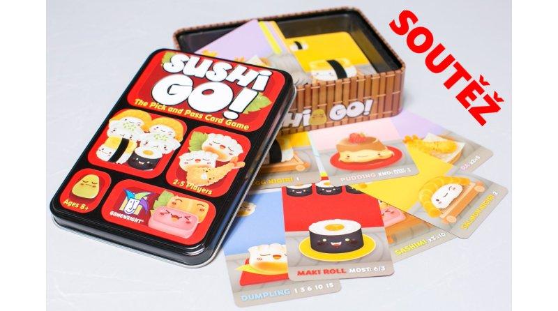 SOUTĚŽ o karetní hru SUSHI GO! - www.chrudimka.cz