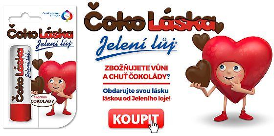 Soutěž o tradiční Jelení lůj ČokoLáska - www.chytrazena.cz