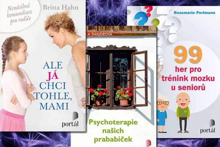 Vyhrajte jednu ze tří psychologických knih nakladatelství Portál - www.klubknihomolu.cz