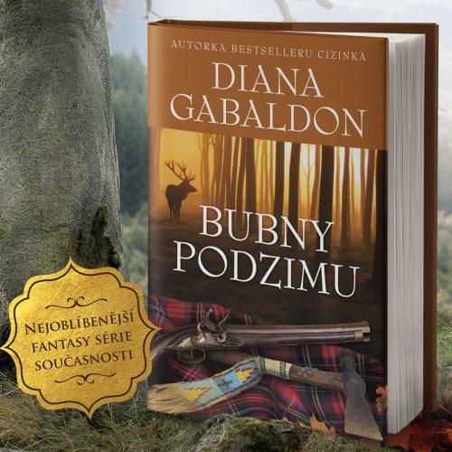 Vyhrajte dva romány Bubny podzimu - www.klubknihomolu.cz