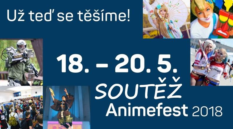 SOUTĚŽ o vstupenky na ANIMEFEST 2018 - www.chrudimka.cz