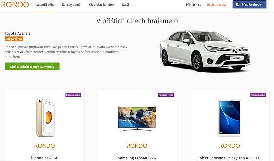 Soutěž o vstupenky do hry Rondo o ceny za miliony - www.chytrazena.cz