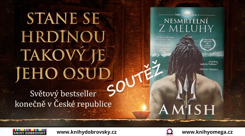 SOUTĚŽ o knihu NESMRTELNÍ Z MELUHY - www.chrudimka.cz