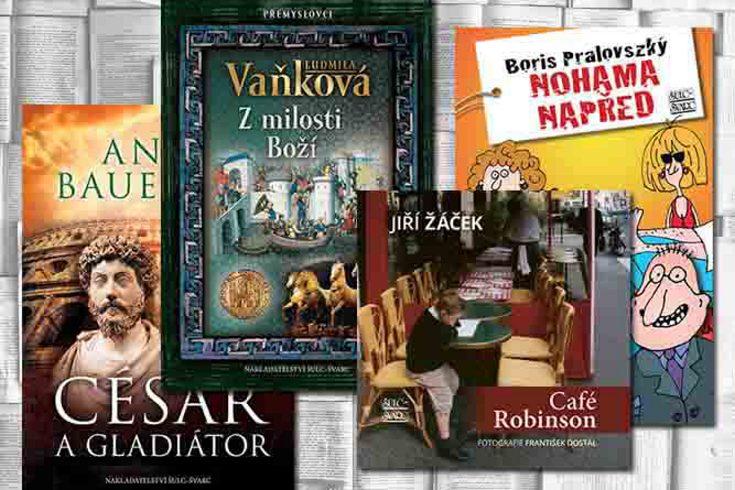 Vyhrajte některou z knih rozličných žánrů nakladatelství Šulc-Švarc - www.klubknihomolu.cz