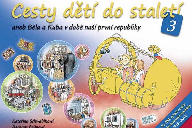 Vyhrajte tři knihy Cesty dětí do staletí 3 - www.klubknihomolu.cz