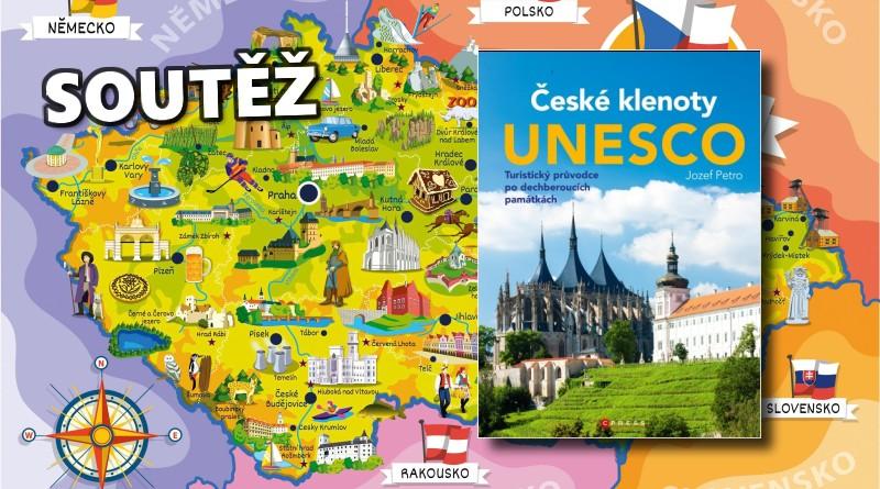 SOUTĚŽ o tři knihy ČESKÉ KLENOTY UNESCO - www.chrudimka.cz
