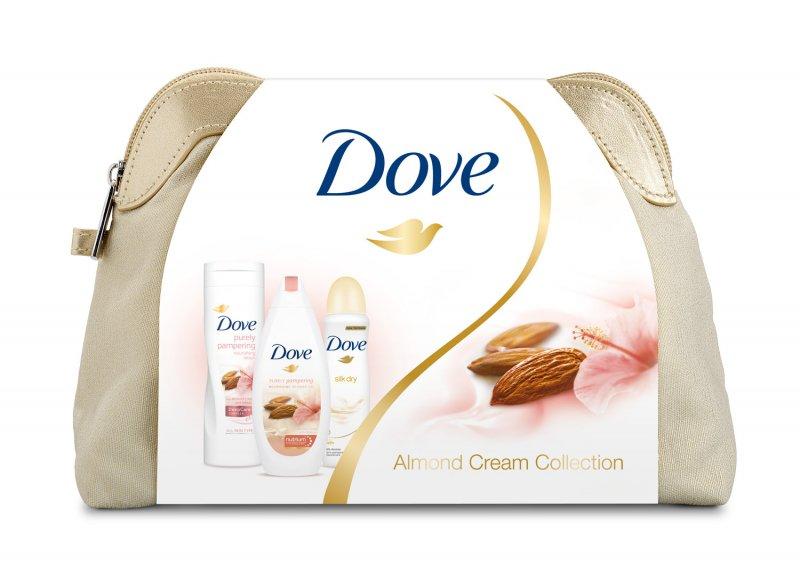 Soutěž o kosmetický balíček Dove Almond - www.soutez4u.cz