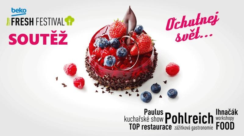 SOUTĚŽ o vstupenky na gurmánský BEKO FRESH festival do Pardubic - www.chrudimka.cz