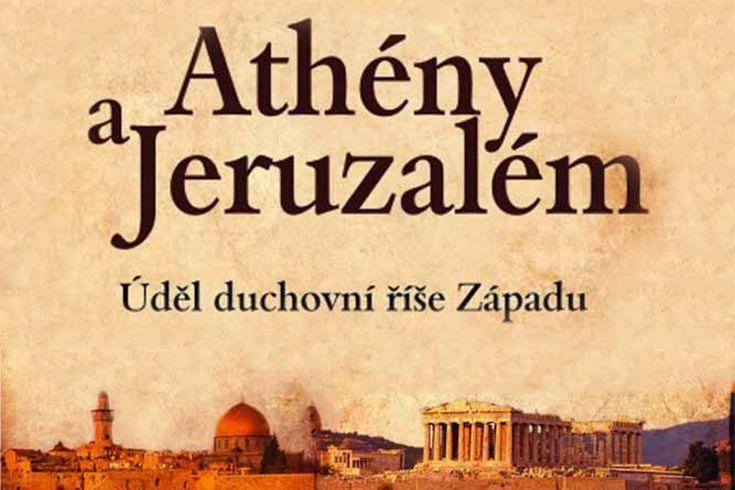 Vyhrajte pět knih Athény a Jeruzalém - www.klubknihomolu.cz