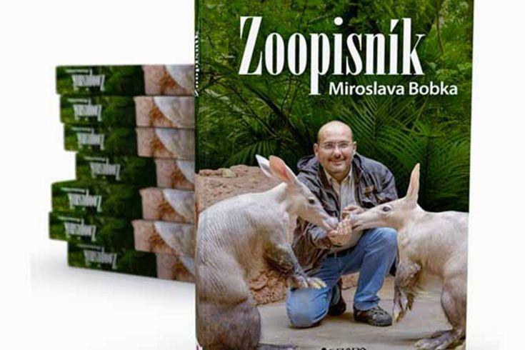 Vyhrajte tři knihy Zoopisník Miroslava Bobka - www.klubknihomolu.cz