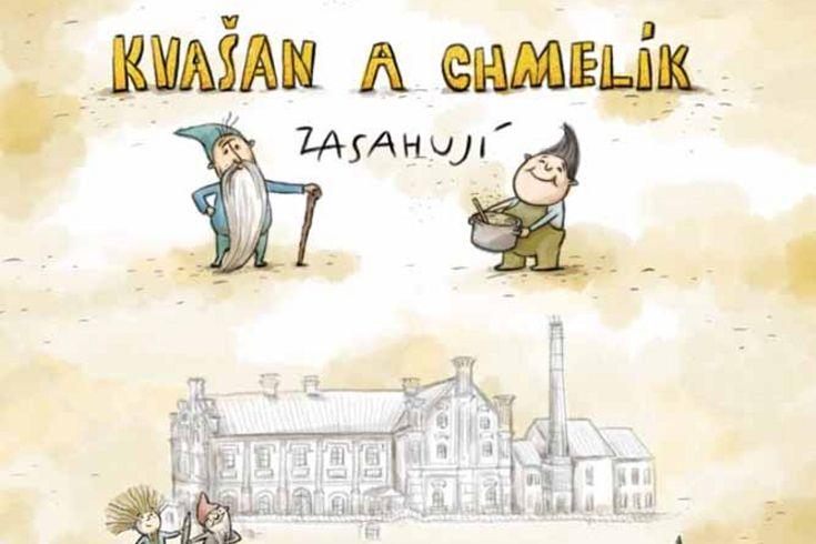 Vyhrajte pět knih Kvašan a Chmelík zasahují - www.klubknihomolu.cz