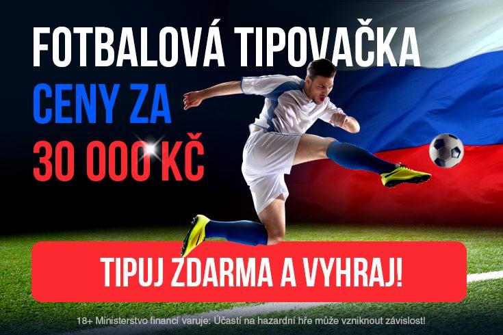 Fotbalová tipovačka o 30 000 Kč - www.betarena.cz