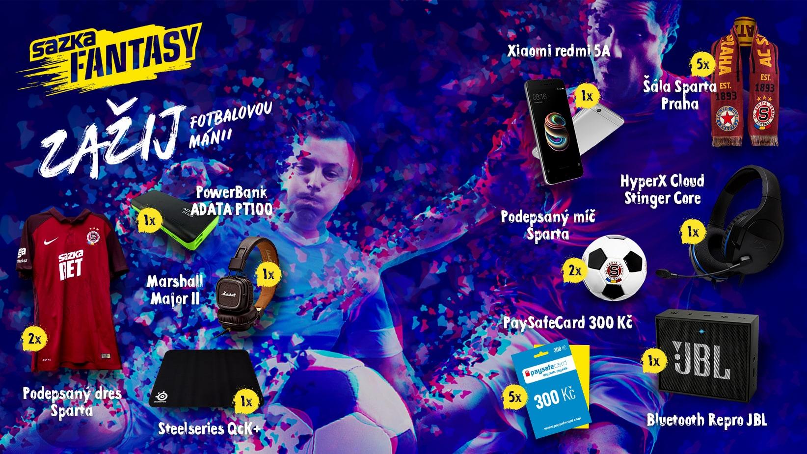MS Fotbal 2018 - vyhraj podepsaný dres od SAZKA Fantasy - https://gleam.io/CxP4l/vyhrvej-se-sazka-fantasy
