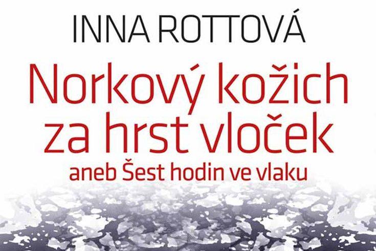 Vyhrajte dvě knihy Norkový kožich za hrst vloček - www.klubknihomolu.cz
