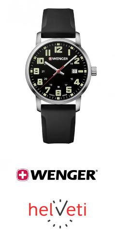 Soutěž o hodinky Wenger Avenue 01.1641.110 v hodnotě 3 690 Kč. - www.helveti.cz