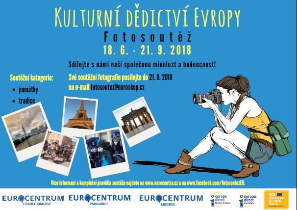 Sdílejte s námi naši společnou minulost a budoucnost a vyhrajte lákavé ceny pro cestovatele! - www.eurocentra.cz/pardubice