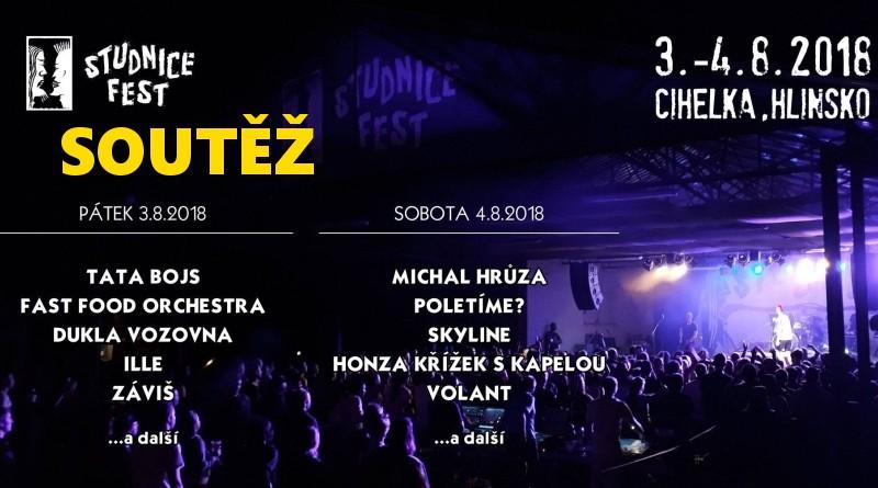 SOUTĚŽ o vstupenky na Studnice Fest - www.chrudimka.cz