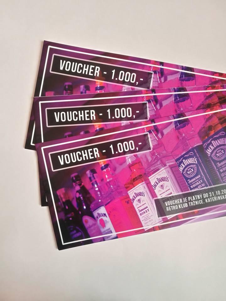 Soutěž o 3x voucher o pití na baru v Retro Klub Tržnice Olomouc v hodnotě 1 000- - nejpripojeni.cz
