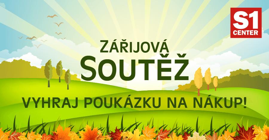 Soutěž s S1 Center Prostějov o poukázky na nákup! - www.saller.cz