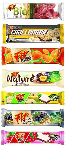Vyhrajte jeden z pěti dárkových balíčků s chutnými tyčinkami FIT - www.chytrazena.cz