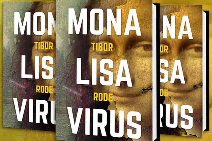Vyhrajte dvě knihy Mona Lisa virus - www.klubknihomolu.cz