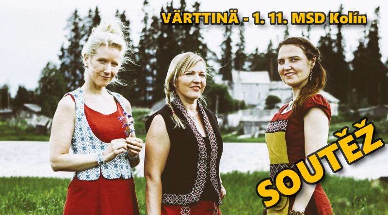 SOUTĚŽ o vstupenky na koncert skupiny VÄRTTINÄ v Kolíně - www.chrudimka.cz