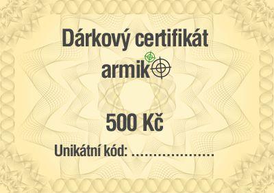 Vyhrajte 500 Kč na nákup do Armik.cz - 10/2018 - armik.cz/soutez/