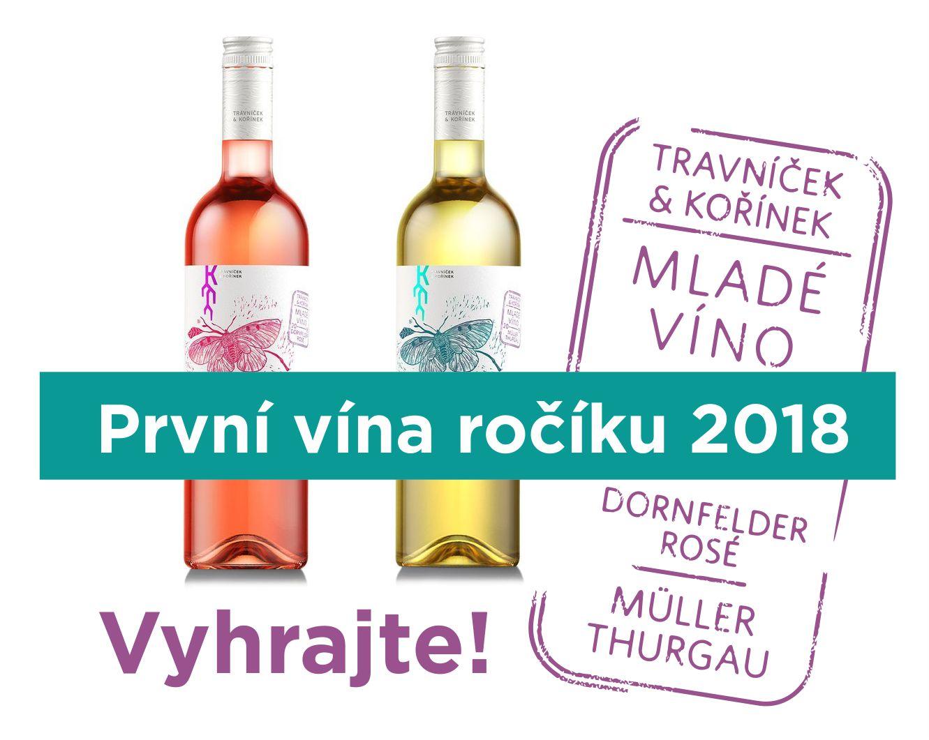 Vyhrajte první vína ročníku 2018! - www.vinotrh.cz