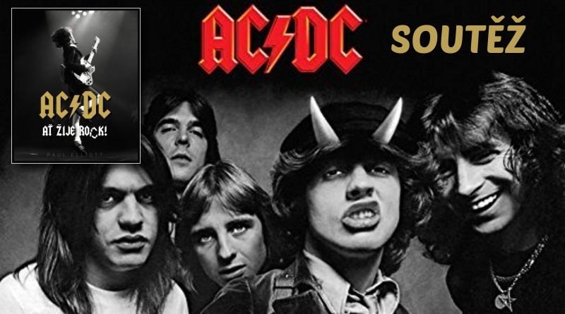 SOUTĚŽ o knihu AC/DC: Ať žije rock! - www.chrudimka.cz