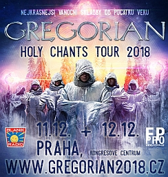 Soutěž o vstupenky na speciální vánoční koncert GREGORIAN - www.chytrazena.cz