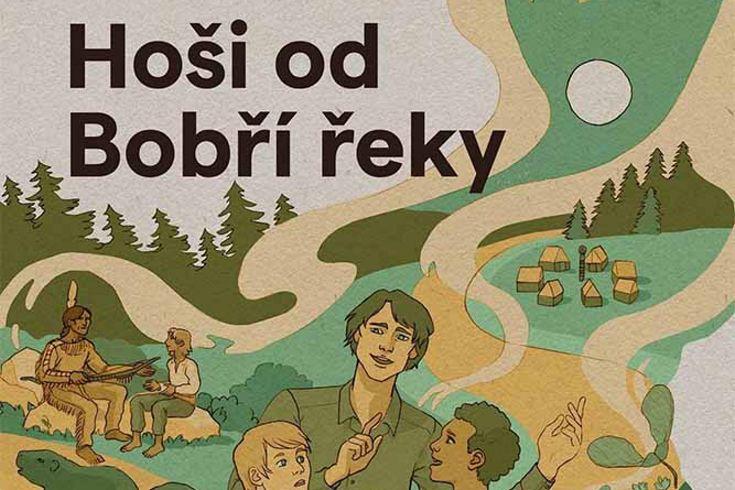 Vyhrajte tři knihy Hoši od Bobří řeky - www.klubknihomolu.cz