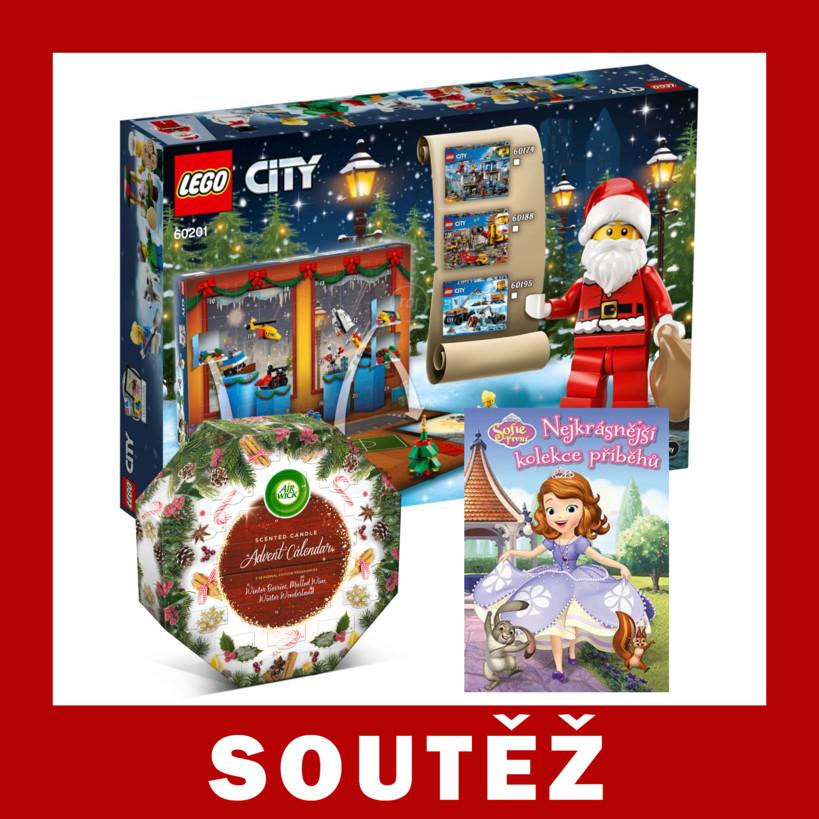 Soutěž o LEGO City Adventní kalendář a další ceny - https://www.advent-kalendar.cz/