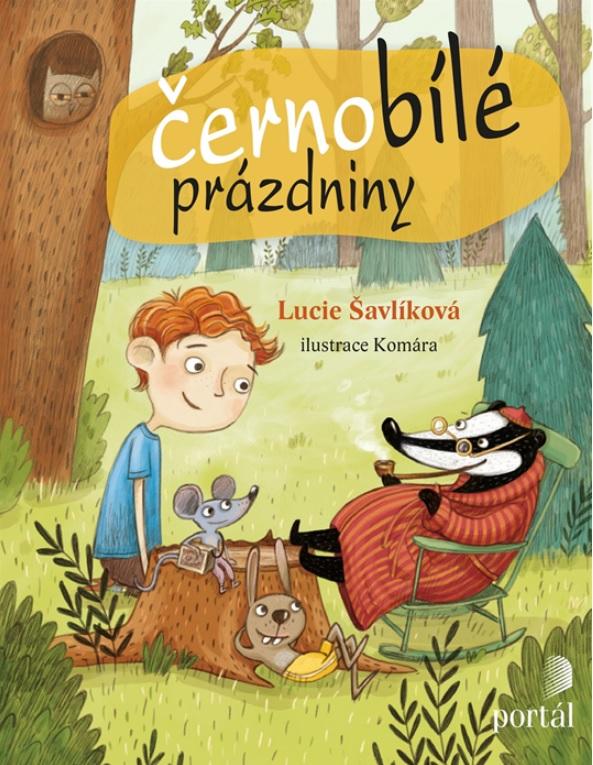 Soutěž o 3 knihy Černobílé prázdniny - www.vasesouteze.cz