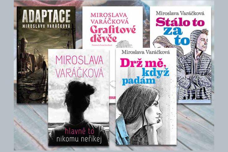 Získejte některou z knih pro mladé čtenářky i čtenáře - www.klubknihomolu.cz