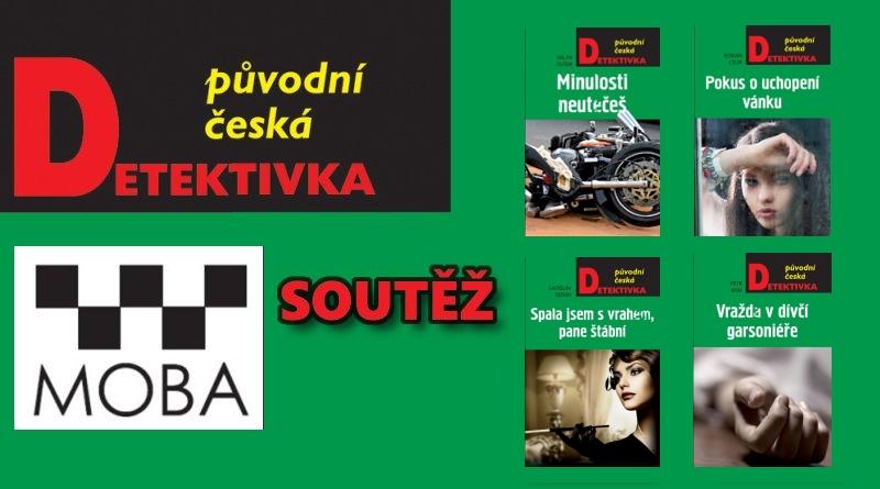 SOUTĚŽ o čtyři české detektivky MOBA - www.chrudimka.cz