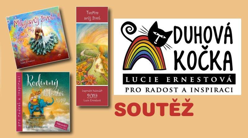 SOUTĚŽ o kalendáře Lucie Ernestové  DUHOVÁ KOČKA; - www.chrudimka.cz