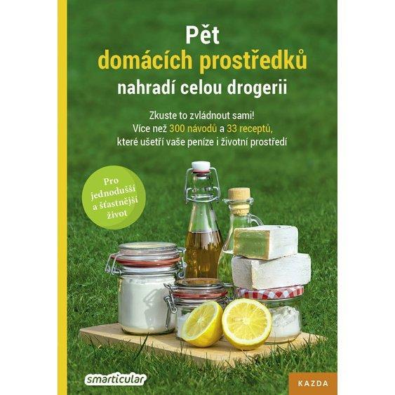 Soutěž o 3 knihy Pět domácích prostředků nahradí celou drogerii  - www.vasesouteze.cz