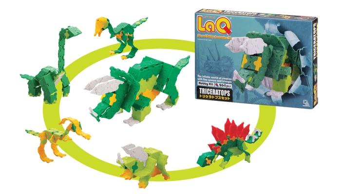 Vyhrajte stavebnici LaQ Triceratops - www.jinehracky.cz