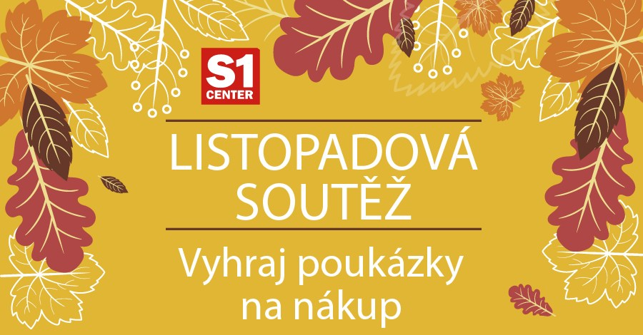 Soutěžte s S1 Center Chomutov o 10 poukázek na nákup! - www.saller.cz