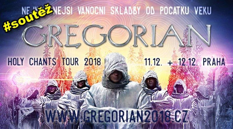 SOUTĚŽ o vstupenky na GREGORIAN - www.chrudimka.cz