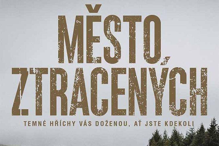 Vyhrajte tři thrillery Město ztracených - www.klubknihomolu.cz