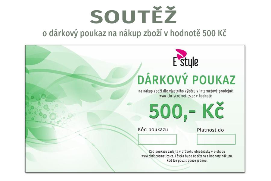 Soutěž o dárkový poukaz na nákup zboží v e-shopu chriscosmetics.cz v hodnotě 500 Kč  - www.chriscosmetics.cz