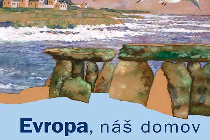 Vyhrajte tři knihy Evropa náš domov - www.klubknihomolu.cz