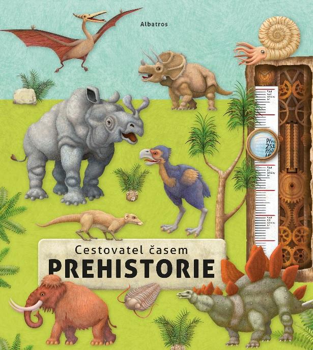 Soutěž o knihu Cestovatel časem - Prehistorie - www.vasesouteze.cz