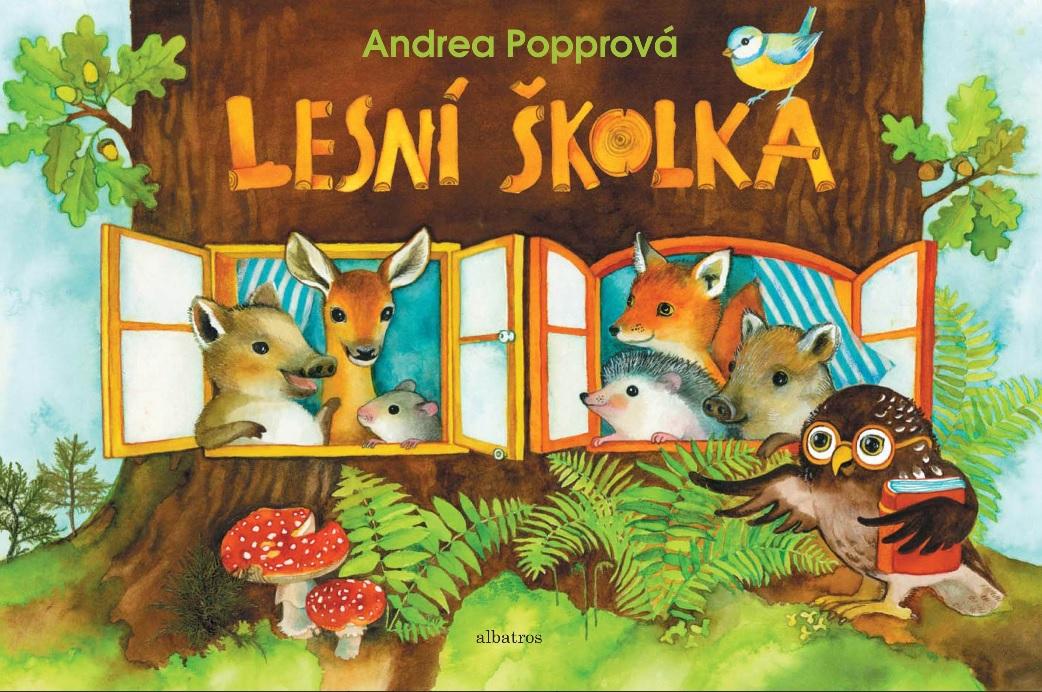 Soutěž o knihu Lesní školka - www.vasesouteze.cz