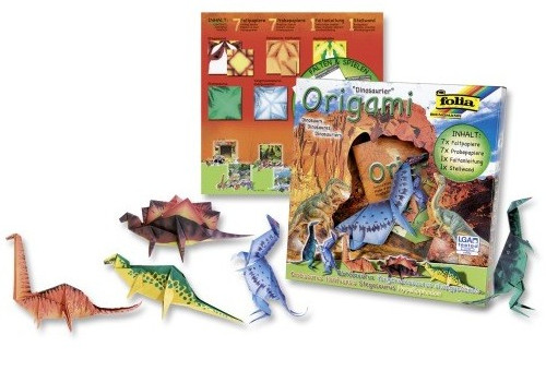 Soutěž o origami sadu Dinosauři - www.srdcetvor.cz