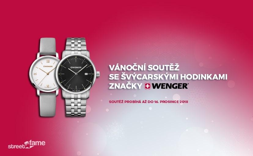 Soutěž o kvalitní švýcarské hodinky značky Wenger! - www.streetfame.org
